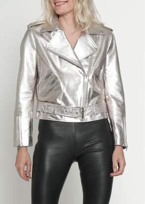 Walter W118 by Baker Allison Leather Moto Jacket