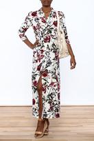 Hommage Floral Shirt Dress