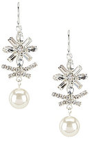 Cezanne Starburst Drop Earrings