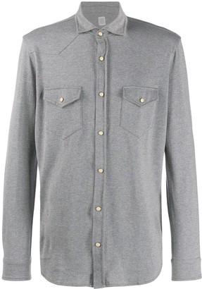 Eleventy Texas Buttoned Shirt