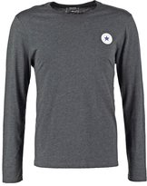 Converse Core Classic Fit Long Sleeved Top Black Heather