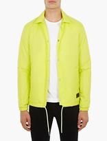 Acne Studios Yellow Tony Face Jacket