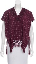 Nili Lotan Embroidered Sleeveless Top w/ Tags