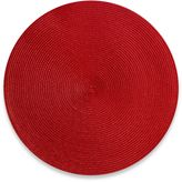 Bed Bath & Beyond Indoor/Outdoor 15-Inch Round Placemat in Red