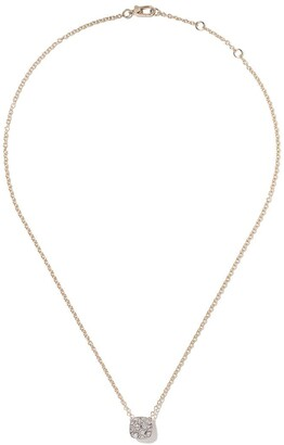 Pomellato 18kt rose gold and 18kt white gold Nudo necklace