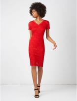 George Short Sleeve Lace Dress