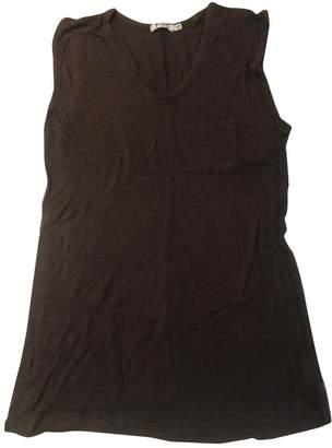 Alexander Wang Burgundy Cotton Top for Women