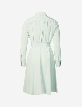 Diane von Furstenberg Dory silk midi shirt dress