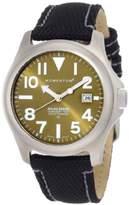 Momentum Men's 1M-SP00G14B Atlas Green Dial Black Snowboard Nylon Watch