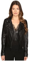 LAMARQUE Donna-16 Leather Biker Jacket