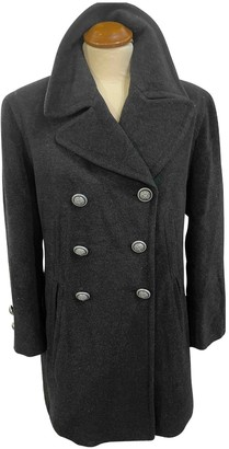 Moschino Cheap & Chic Moschino Cheap And Chic Anthracite Wool Coat for Women