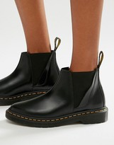 Dr. Martens Bianca Black Chelsea Boots
