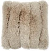 ADRI Collection Fox-Fur-Striped Pillow
