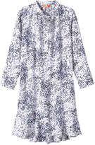 Joe Fresh Women's Floral Print Dress, White (Size M)