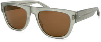Barton Perreira Men's Kahuna Square Acetate Sunglasses