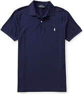 Polo Ralph Lauren Performance Pique Short-Sleeve Solid Polo Shirt