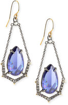 Alexis Bittar Crystal Illusion-Set Wire Drop Earrings