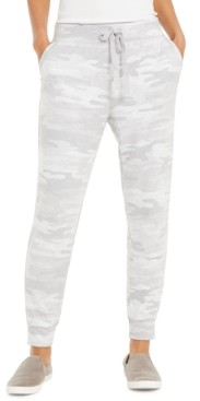 Style&Co. Style & Co Camo-Print Joggers, Created for Macy's