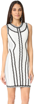Herve Leger Imaan Zigzag Dress