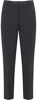 Mint Velvet Stretch Cotton Cropped Trousers