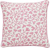 Sanderson ArberellaBatik leaf cushion 40x40cm rose