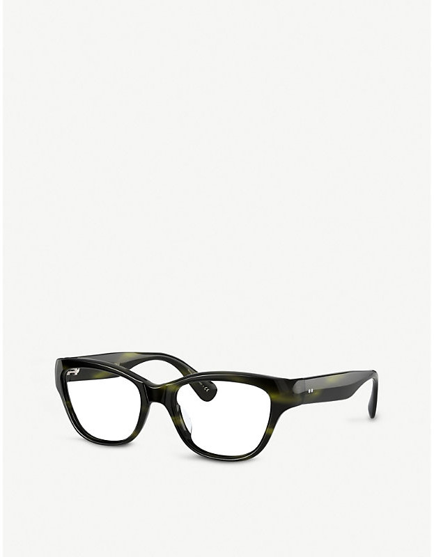 Thumbnail for your product : Oliver Peoples OV5431U Siddie acetate rectangle-frame glasses
