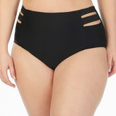 Boutique + + High Waist Swimsuit Bottom-Plus