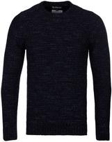 Barbour Portlight Navy Crew Neck Sweater