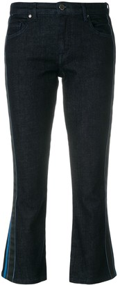 Victoria Victoria Beckham Flared Cropped Jeans