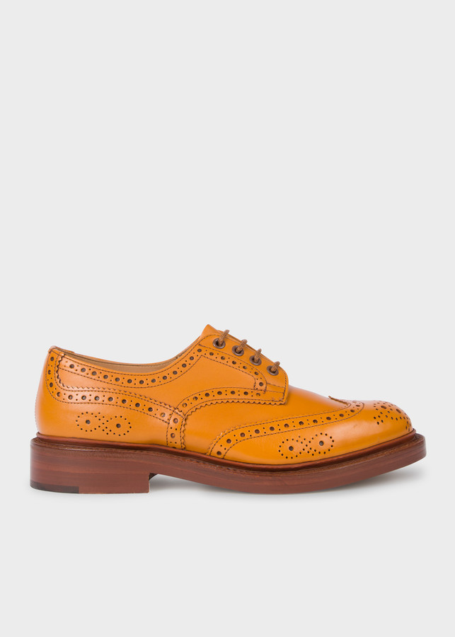 Paul Smith Tricker's For Acorn Antique Leather 'Bourton' Brogues