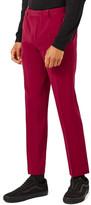 Topman Topshop Skinny Fit Tuxedo Trousers