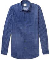 Paul Smith Soho Slim-Fit Cutaway-Collar Polka-Dot Cotton Shirt