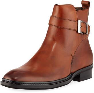 Karl Lagerfeld Paris Men's Wrap-Strap Leather Boot