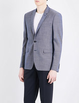 Sandro Tailored-fit wool blazer