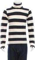Balenciaga Striped Long Sleeve Sweater