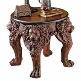Toscano Lord Raffles Lion Leg End Table Design
