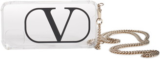 Valentino VLOGO iPhone 11 Case on a Chain