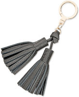 Kate Spade Double Leather Tassel Keychain