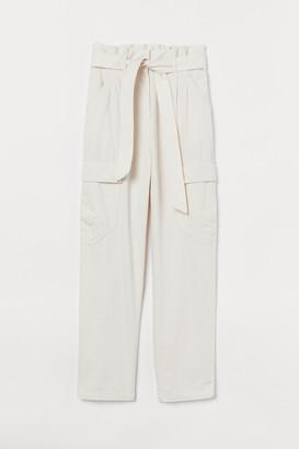 H&M Cotton Utility Pants