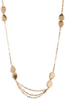 Melinda Maria June Double Teardrop Station Necklace