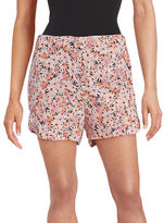 French Connection Floral Crepe Shorts
