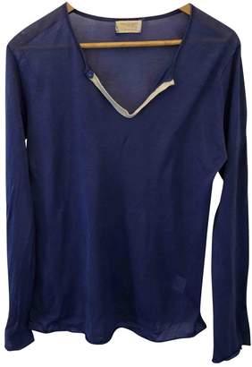 Toast Blue Cotton Knitwear for Women