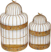 Privilege Birg Cage Planters (Set of 2)