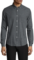 Life After Denim Men's Fiskebar Cotton Button Down Sportshirt