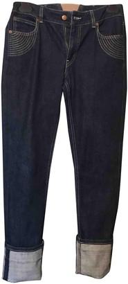 Jean Paul Gaultier Blue Cotton Jeans