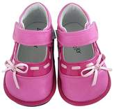 Jack & Lily Bow Trimmed Shoe (Baby & Toddler)