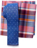 Original Penguin Hammond Dot Tie & Pocket Square 2-Piece Set