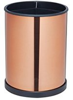 Kitchen Craft MasterClass Copper Effect Rotating Kitchen Utensil Holder, 18.5 x 14 cm