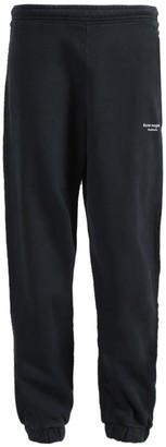 Acne Studios Black Inverted Logo Jogger Pants