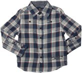 Buffalo Siorku Plaid Shirt (Kid) - River Combo-5